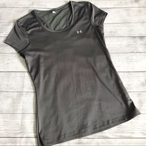 Under Armour Gray Athletic Top